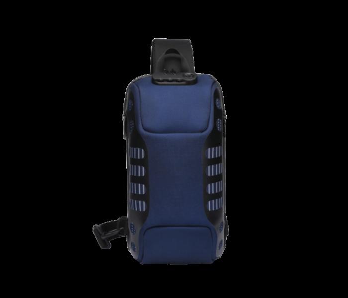sac bandoulière bleu